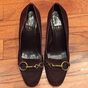 Coach low heels 👠
